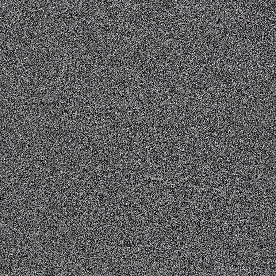 STAINMASTER LiveWell Vigorous II 12-ft W x Cut-to-Length Authoritive Grey Textured Interior Carpet