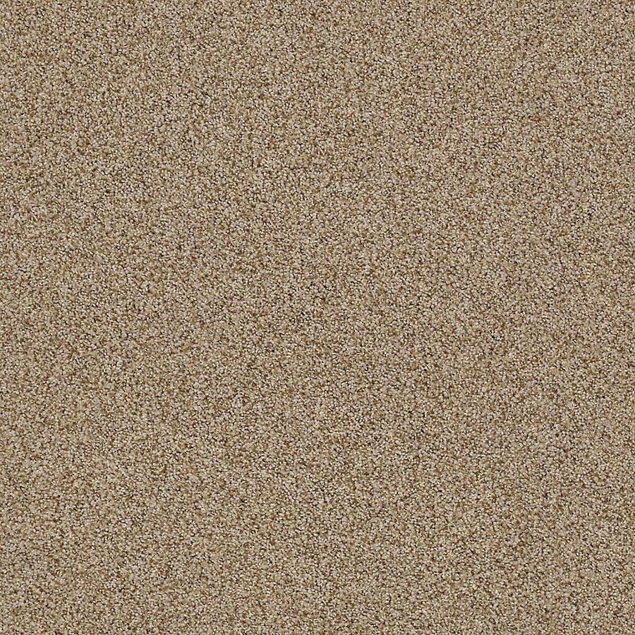 STAINMASTER LiveWell Vigorous II Amaretto Textured Interior Carpet