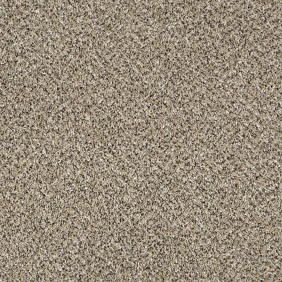 STAINMASTER Essentials Palacial I 12-ft W x Cut-to-Length Sea Shell Textured Interior Carpet