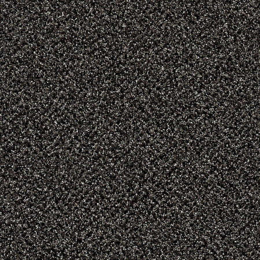 STAINMASTER Essentials Palacial I 15-ft W x Cut-to-Length Iron Age Textured Interior Carpet