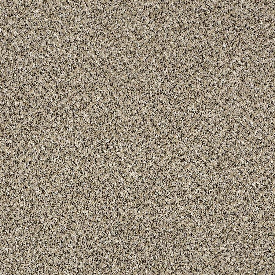 STAINMASTER Essentials Palacial II 15-ft W x Cut-to-Length Sea Shell Textured Interior Carpet