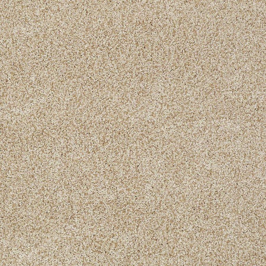 STAINMASTER TruSoft Advanced Beauty I 12-ft W x Cut-to-Length Parchment Textured Interior Carpet