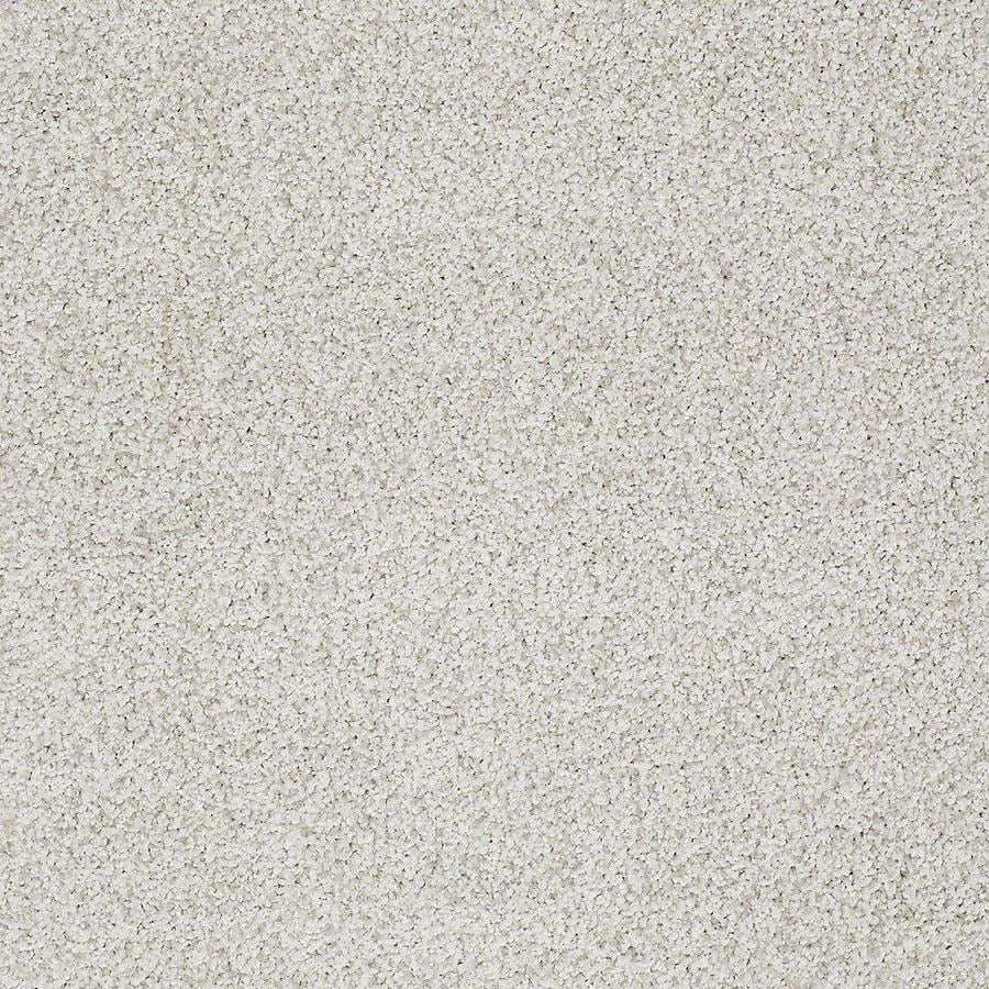 STAINMASTER TruSoft Advanced Beauty II 12-ft W x Cut-to-Length Morning Dew Textured Interior Carpet