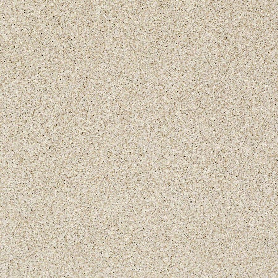 STAINMASTER TruSoft Advanced Beauty II 15-ft W x Cut-to-Length Candle Light Textured Interior Carpet