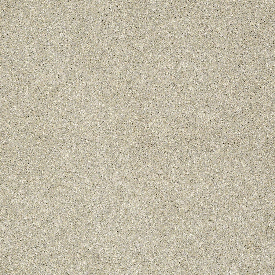STAINMASTER PetProtect Bark to the Future I 15-ft W x Cut-to-Length Fairy Dust Textured Interior Carpet