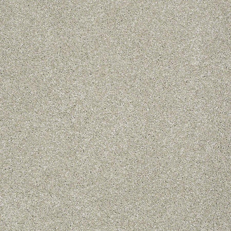 STAINMASTER PetProtect Bark to the Future II 12-ft W x Cut-to-Length Gentle Breeze Textured Interior Carpet