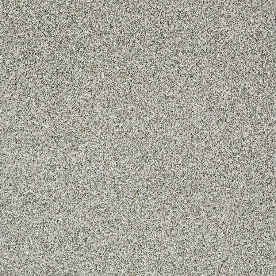 STAINMASTER PetProtect Bark to the Future II 12-ft W x Cut-to-Length Glacier Textured Interior Carpet