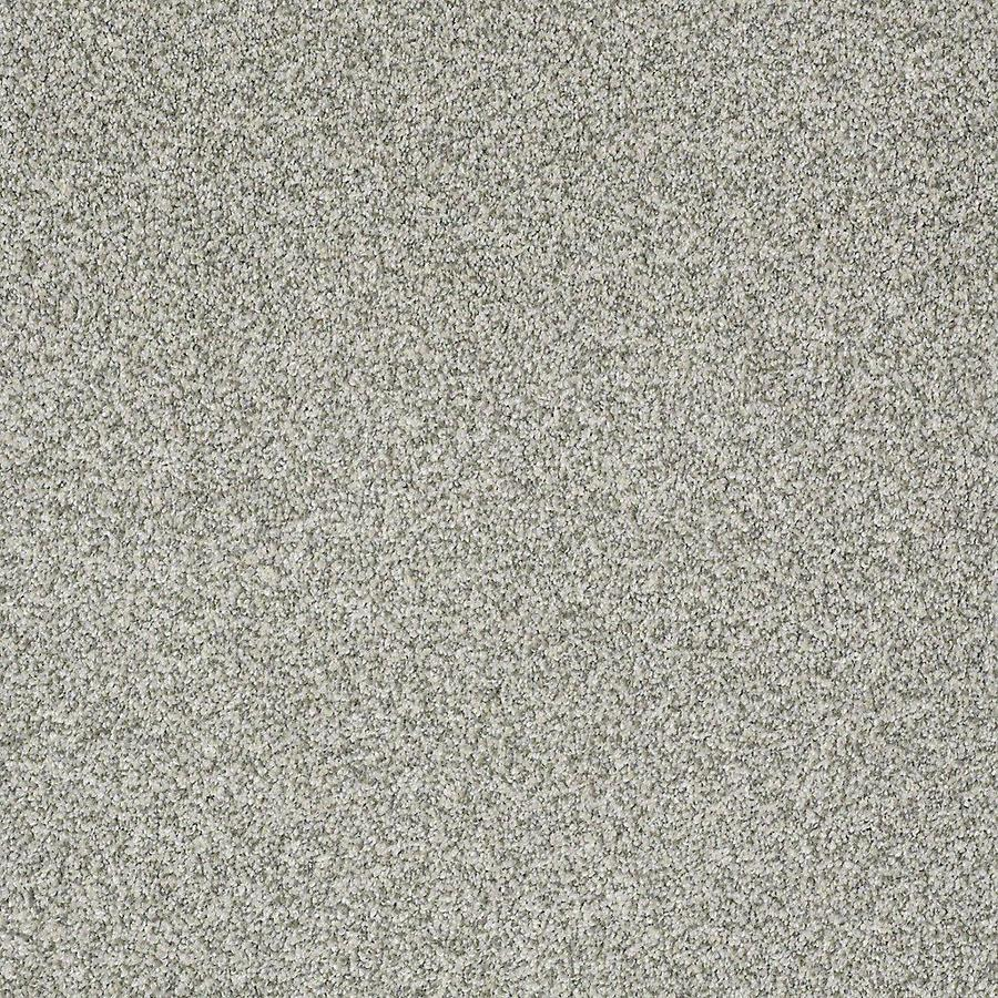 STAINMASTER PetProtect Bark to the Future II 15-ft W x Cut-to-Length Glacier Textured Interior Carpet
