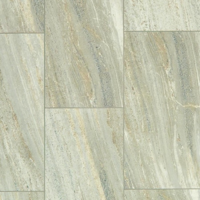 Shaw 8 Piece 12 In X 24 In Limestone Locking Vinyl Tile At Lowes Com