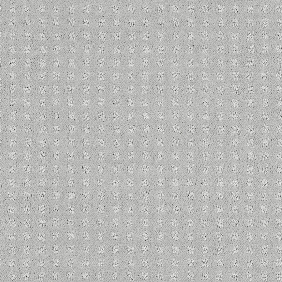 Shaw Cornerstone Honorable Graceful Grey 12-ft W x Cut-to-Length Graceful Grey Pattern Interior Carpet