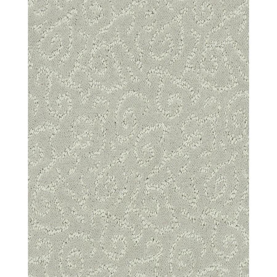 STAINMASTER Cornerstone Trustworthy Graceful Grey 12-ft W x Cut-to-Length Graceful Grey Pattern Interior Carpet