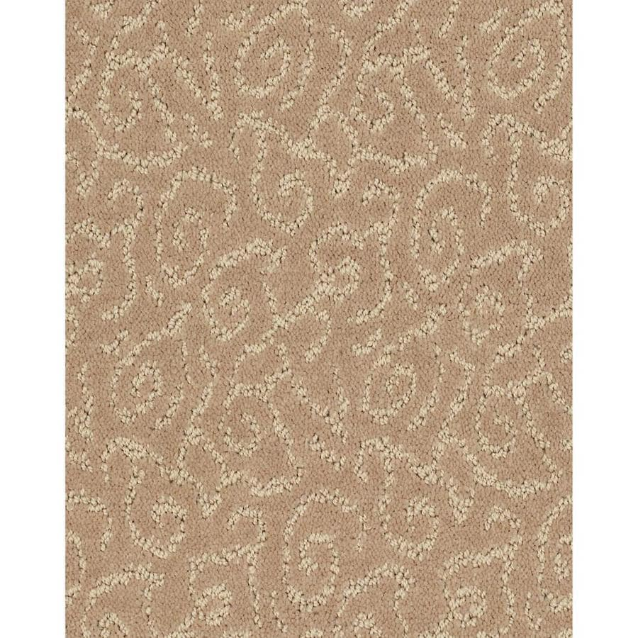 STAINMASTER Cornerstone Trustworthy Baby Fawn 12-ft W x Cut-to-Length Baby Fawn Pattern Interior Carpet
