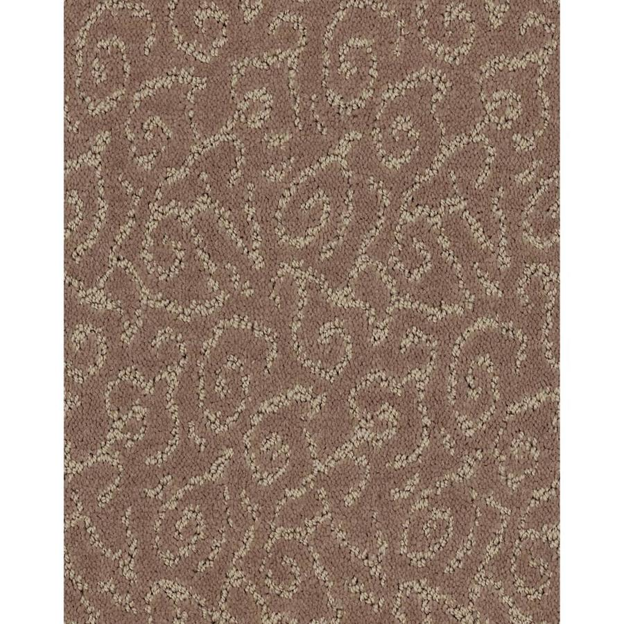 Shaw Cornerstone Trustworthy Root Beer Float 12-ft W x Cut-to-Length Root Beer Float Pattern Interior Carpet