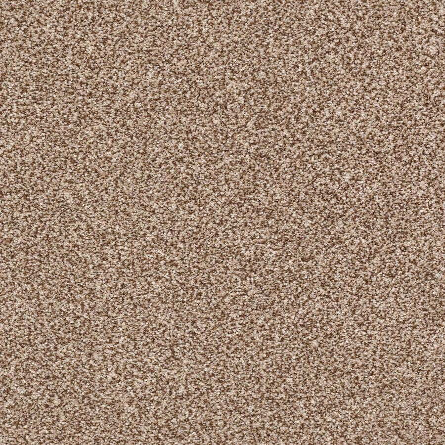 STAINMASTER Cornerstone Ignite Flame 12-ft W x Cut-to-Length Flame Textured Interior Carpet