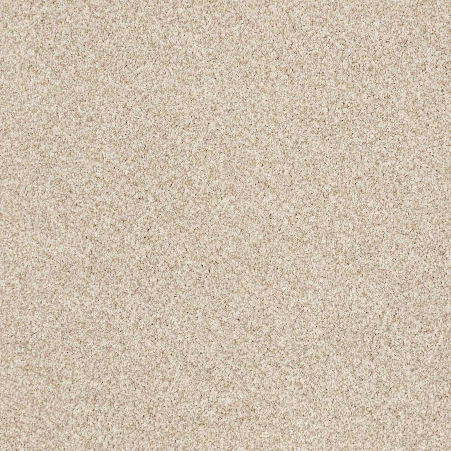 Shaw Cornerstone Kindle Glow 12-ft W x Cut-to-Length Glow Textured Interior Carpet