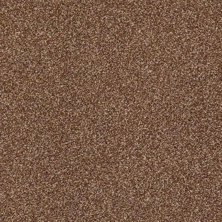 STAINMASTER Cornerstone Inflame Flash 12-ft W x Cut-to-Length Flash Textured Interior Carpet