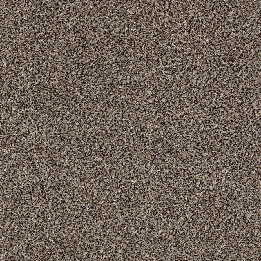 STAINMASTER Cornerstone Inflame Smolder 12-ft W x Cut-to-Length Smolder Textured Interior Carpet