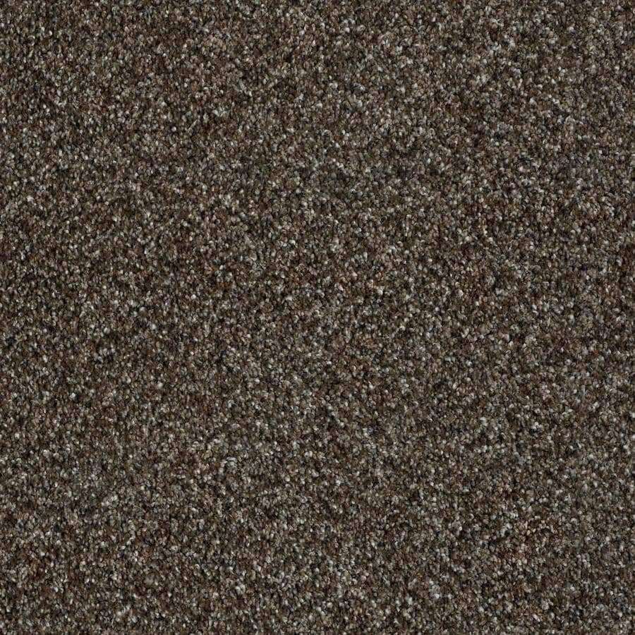 Shaw Wide Width Statuette II  Mystic River 12-ft W x Cut-to-Length Mystic River Textured Interior Carpet