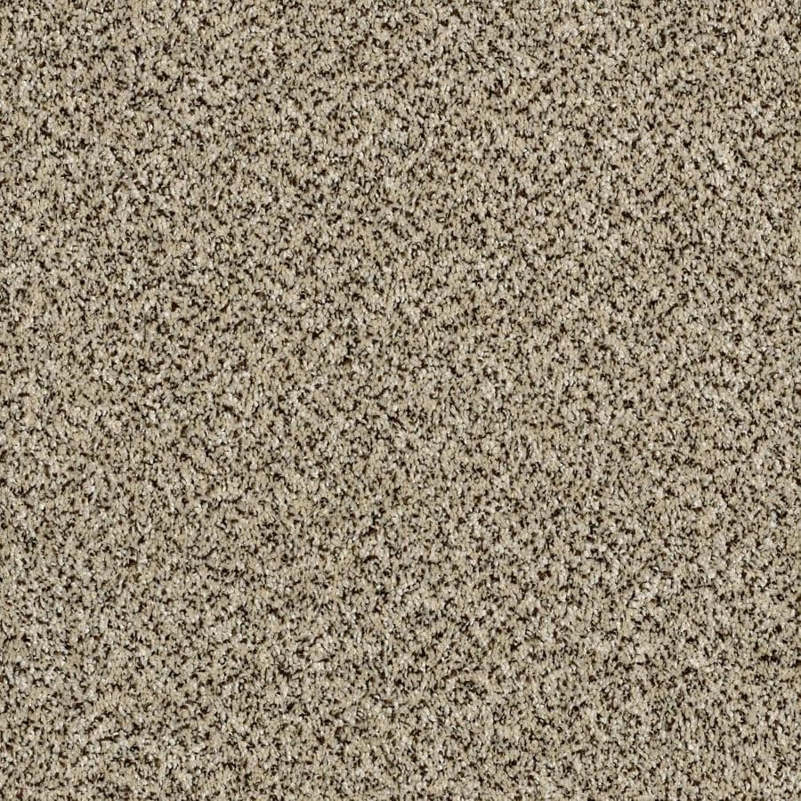 Shaw Wide Width Statuette III  Ivory Coast 15-ft W x Cut-to-Length Ivory Coast Textured Interior Carpet