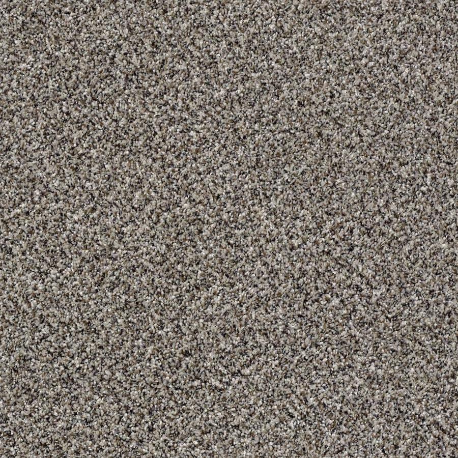 Shaw Wide Width Statuette III  Alaskan Air 15-ft W x Cut-to-Length Alaskan Air Textured Interior Carpet