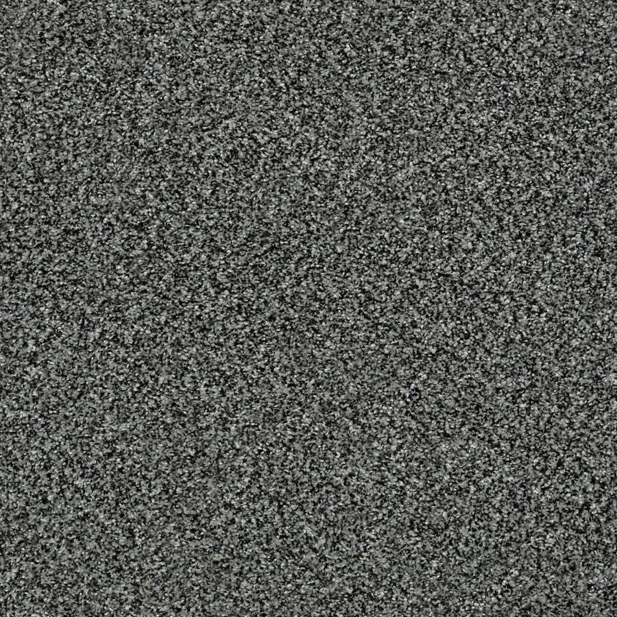 Shaw Wide Width Statuette III Smokey Shimmer 15-ft W x Cut-to-Length Smokey Shimmer Textured Interior Carpet
