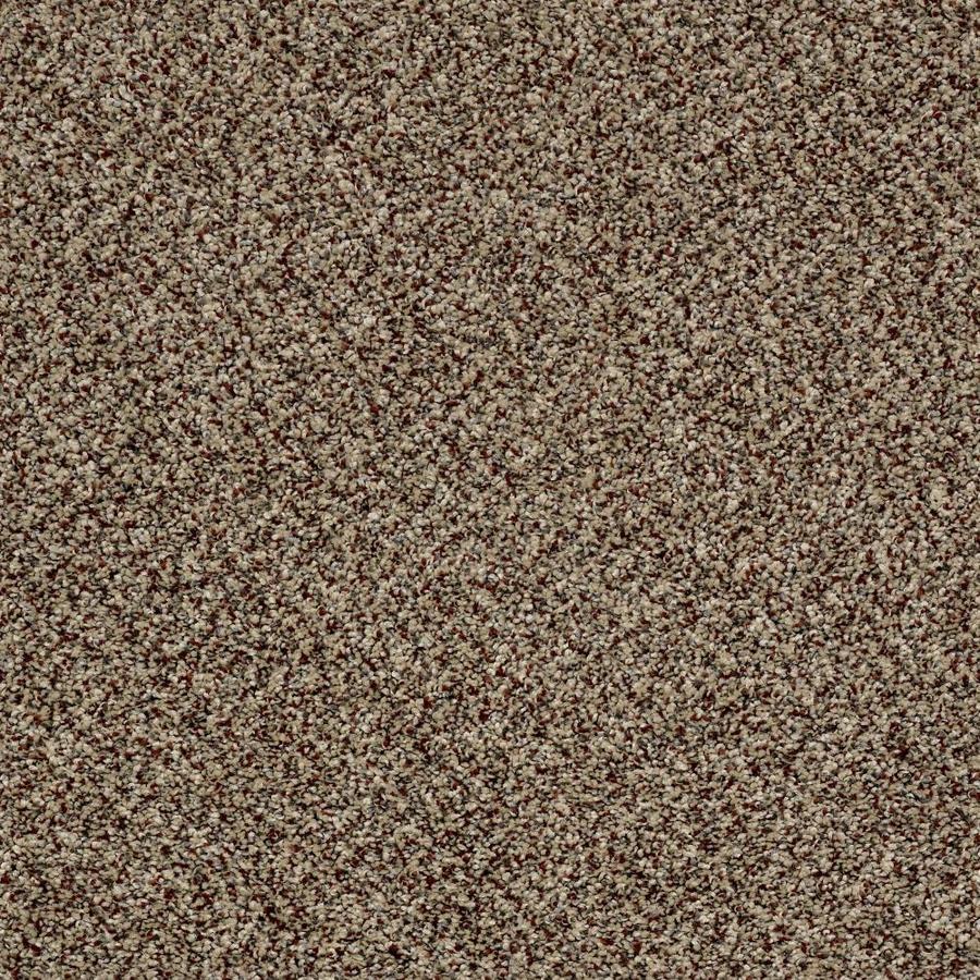 Shaw Wide Width Statuette III  Worn Path 15-ft W x Cut-to-Length Worn Path Textured Interior Carpet