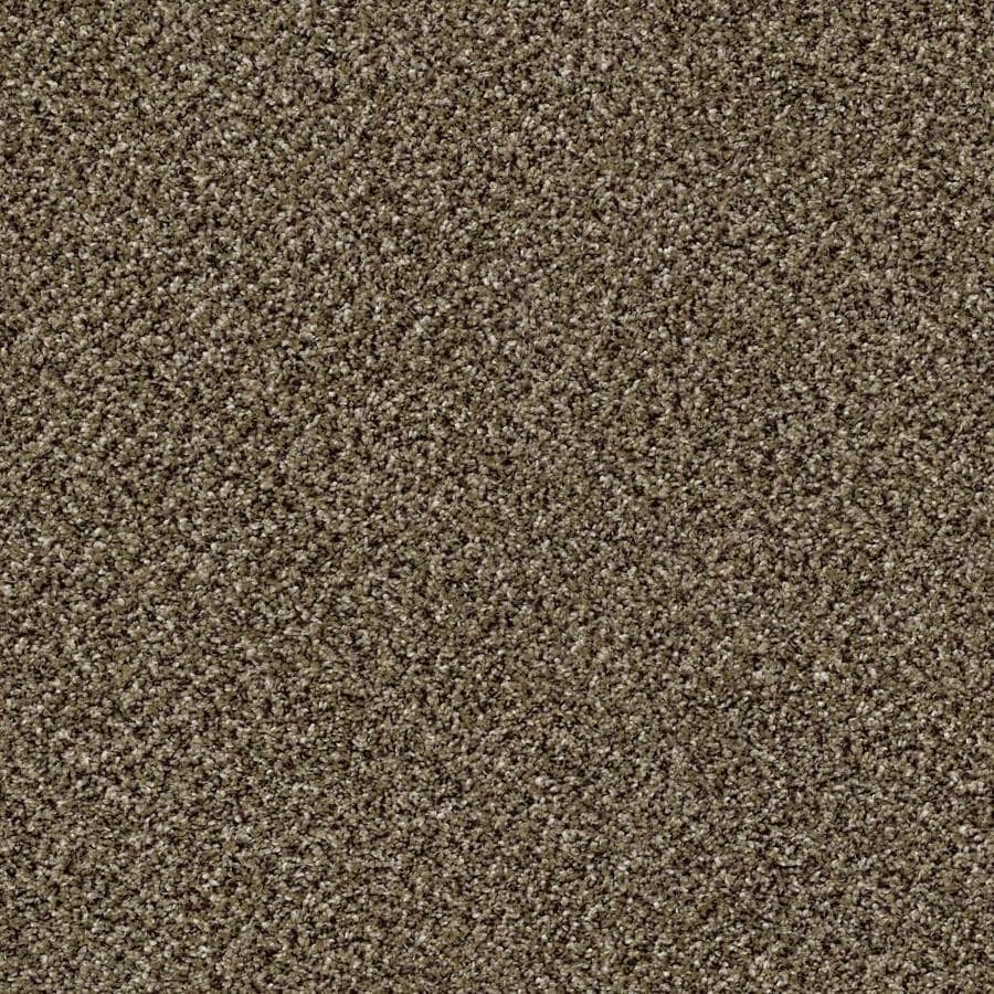 Shaw Wide Width Statuette III  Pinecone 15-ft W x Cut-to-Length Pinecone Textured Interior Carpet