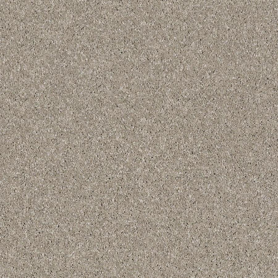 Shaw Wide Width Sculpture II  Cloud Cover 15-ft W x Cut-to-Length Cloud Cover Textured Interior Carpet