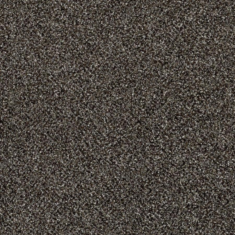 Shaw Wide Width Sculpture III  Boulder 12-ft W x Cut-to-Length Boulder Textured Interior Carpet