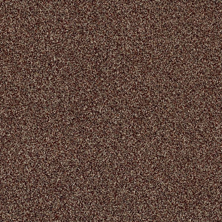 Shaw Wide Width Sculpture III  Ocher 15-ft W x Cut-to-Length Ocher Textured Interior Carpet
