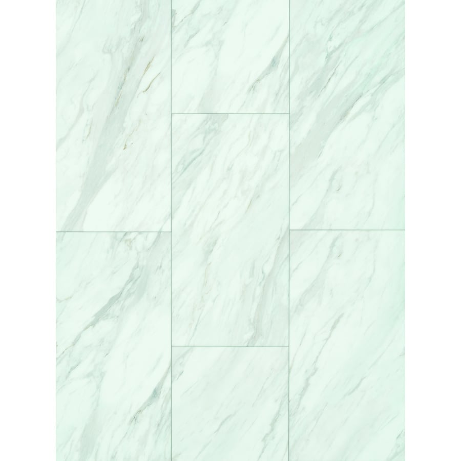 smartcore pro 8 piece 12 in x 24 in gardena marble locking vinyl