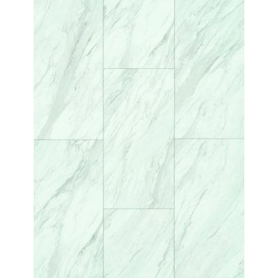Pro 8 Piece 12 In X 24 Gardena Marble Locking Vinyl Tile