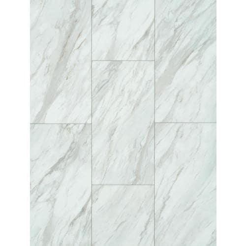 Smartcore Pro 8 Piece 12 In X 24 Gardena Marble Locking Vinyl Tile At Lowes