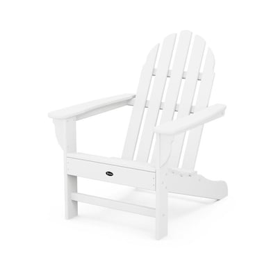 Amazing Adirondack Plastic Stationary Adirondack Chair S With Slat Seat Creativecarmelina Interior Chair Design Creativecarmelinacom