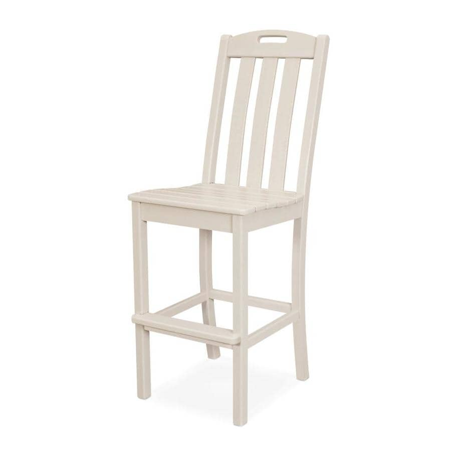 Trex Outdoor Furniture Yacht Club Plastic Stationary Dining Chair S