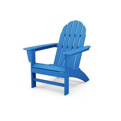 Trex Outdoor Furniture Seaport Plastic Stationary Adirondack Chair(s) with Slat Seat
