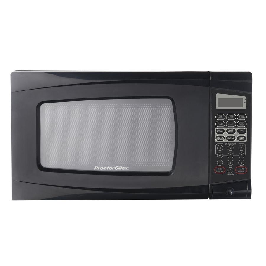 Proctor Silex Microwave Oven Ps P70b20ap A3: Proctor Silex 0.7-cu Ft 700-Watt Countertop Microwave