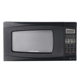 Proctor Silex 0 7 Cu Ft 700 Watt Countertop Microwave Black