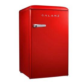 Galanz Galanz Retro 3.5-cu ft Freestanding Mini Fridge (Retro Red)