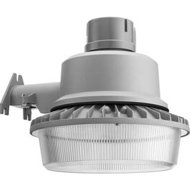 Shop security flood lights at lowes lithonia lighting 1 head gray led area light aloadofball