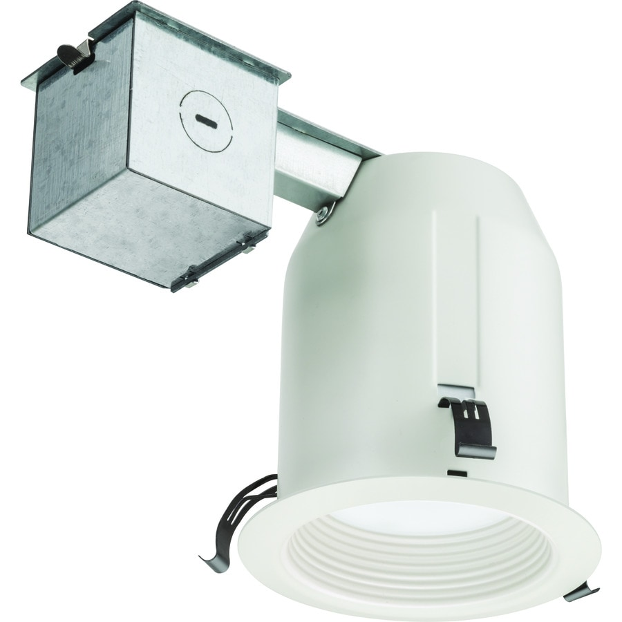 Led Recessed Lighting Kit New Construction : Juno white led remodel and new construction recessed