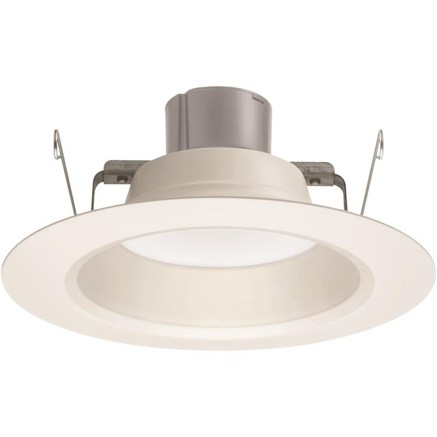 Juno 65-Watt Equivalent White Dimmable LED Recessed Retrofit Downlight (Fits Housing Diameter: 5-in Or 6-in)
