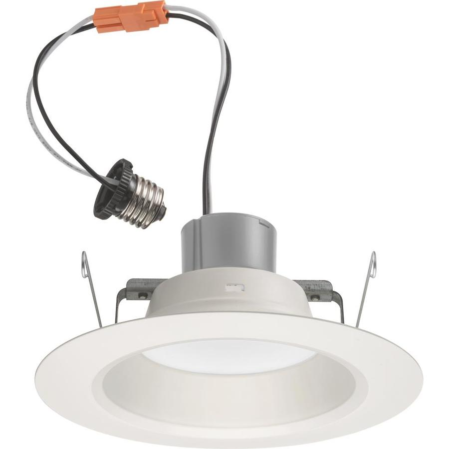 Shop Juno 65-Watt Equivalent White Dimmable LED Recessed