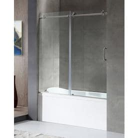 the of shower popular inspirations with home frameless doors tub door depot bathtub