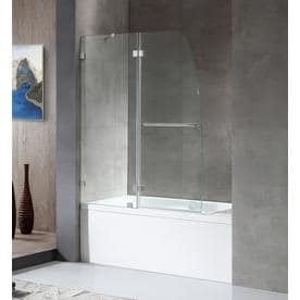 Shop Bathtub Shower Door Glass At Lowescom - Lowes bathroom tubs and showers