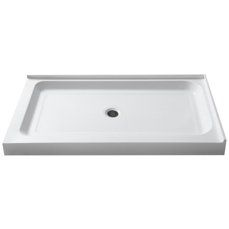 Anzzi Port White Acrylic Shower Base 36 In W X 48 In L
