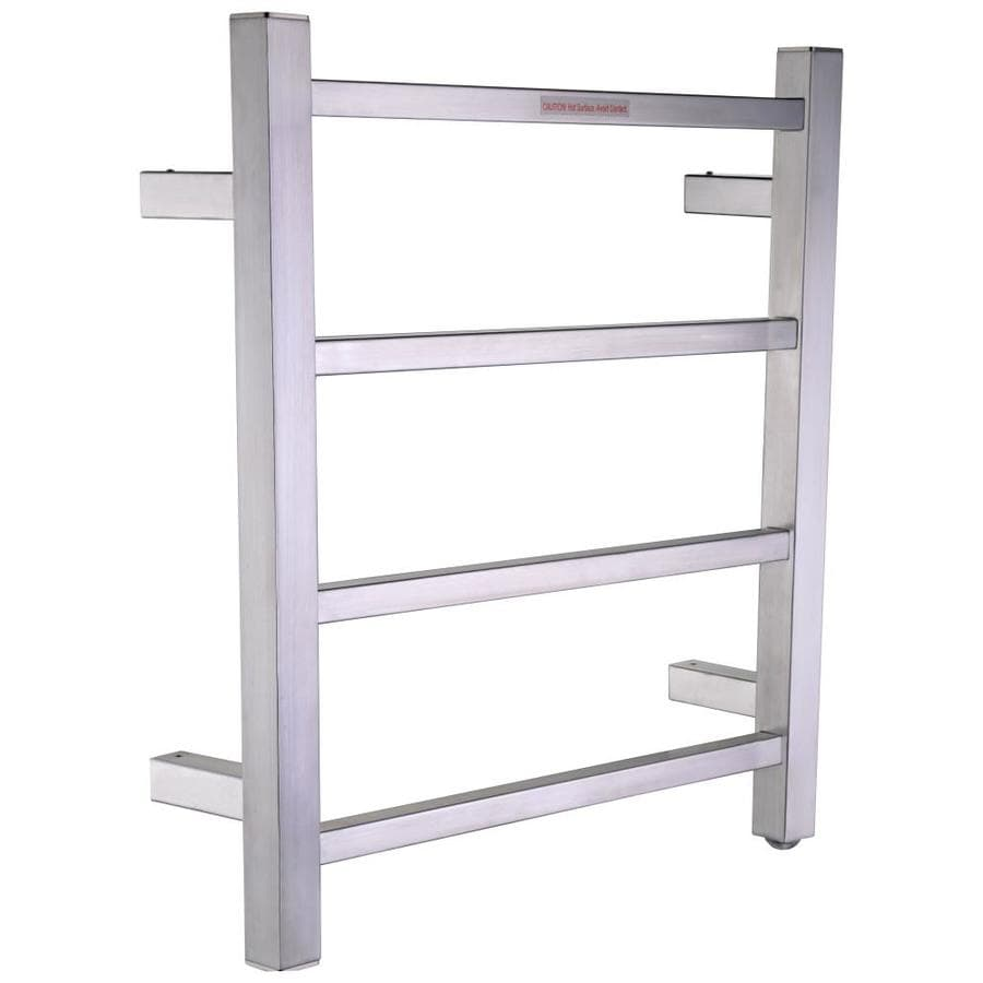 Shop Anzzi Brushed Nickel Towel Warmer At