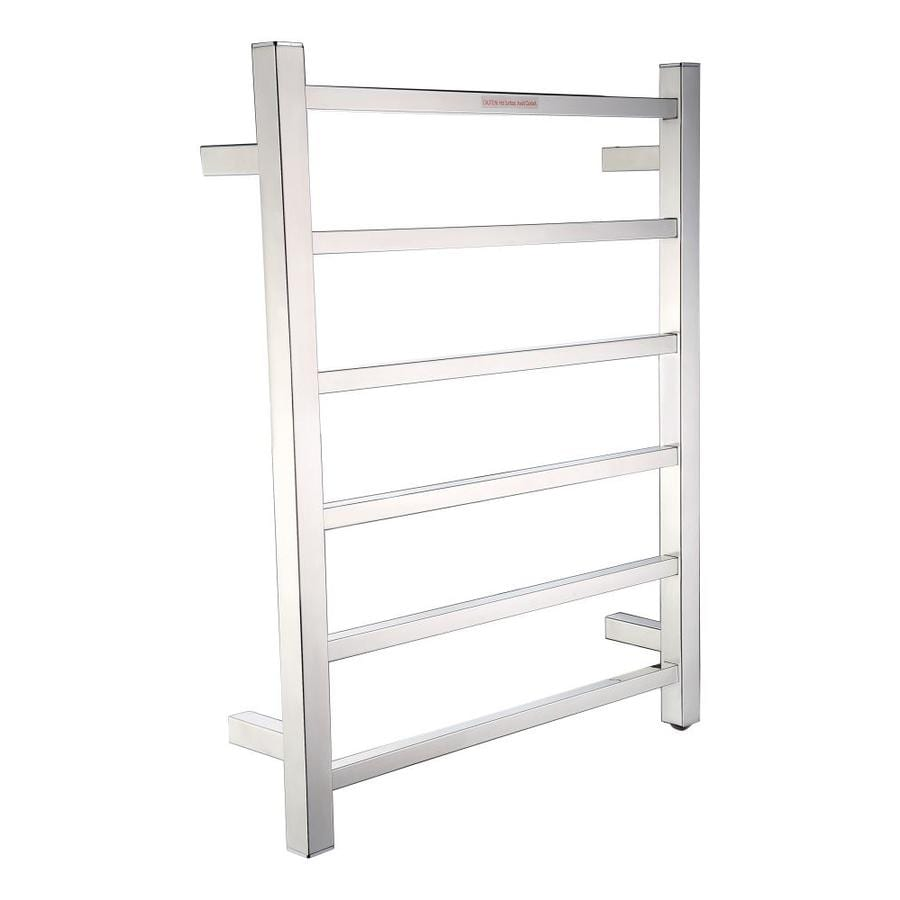 Big Size Stainless Towel Warmer Heated Towel Rack: Shop ANZZI Polished Chrome Towel Warmer At Lowes.com