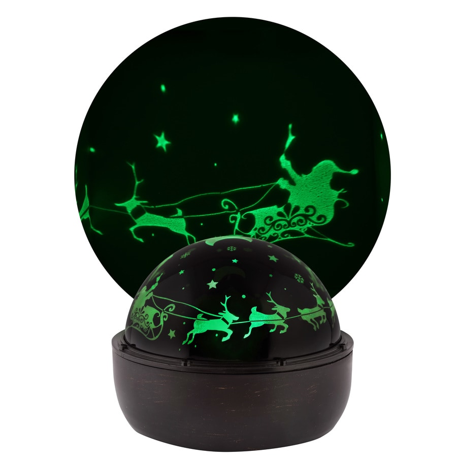 LightShow Multi-function Green LED Multi-design Christmas Indoor Tabletop Projector