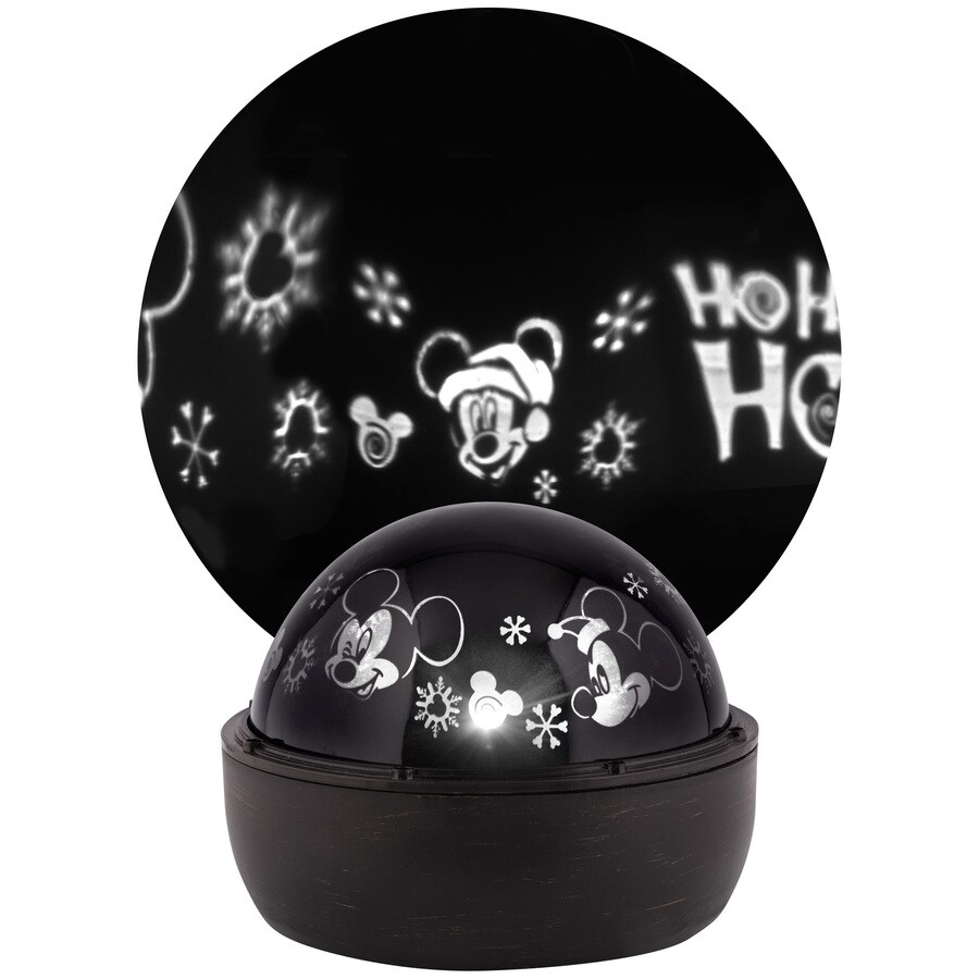 Disney Multi-function White LED Multi-design Christmas Indoor Tabletop Projector